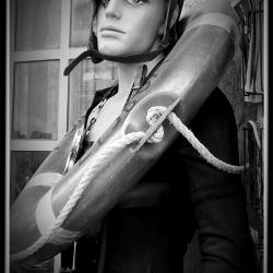 Poster - The Broken Mannequin In Lisbon by Ken Warren