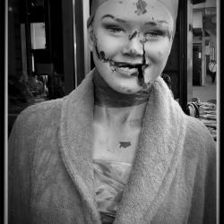 Poster - The Broken Mannequin In Paris by Ken Warren